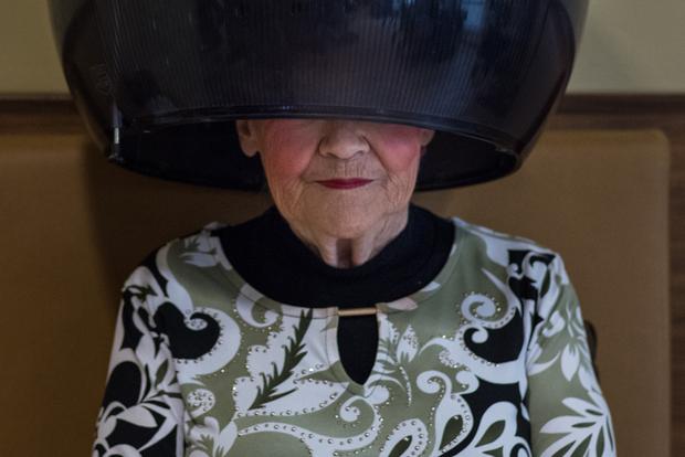Hairdryer Lady