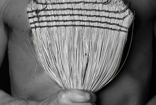 Old Broom / Auto Portrait
