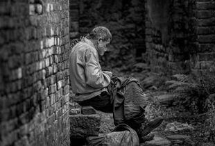 Old village elder