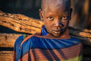 Karo tribe boy
