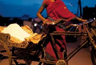 Rangoli Powder Seller
