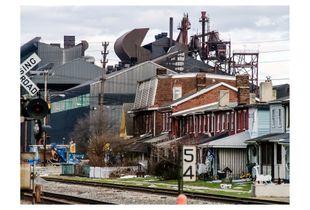 View from Vine Street (Natrona PA, 2009)