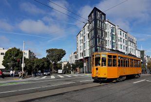 San Francisco Orange F-Train 1859