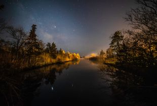 Milky Way Over Beaverdam