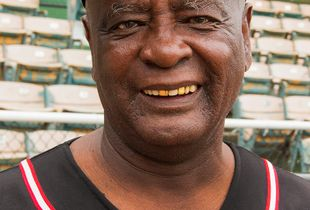 Henry Eaton, former Negro League player.