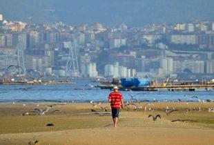 Gazing at Vigo skyline