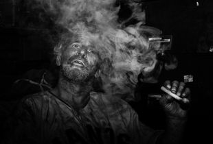 """""""I've got a picture for you - take it  just when I blow out the smoke."""" """""""