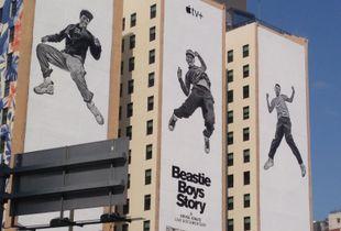 Beastie Boys Billboard in DTLA