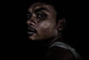 Trafficked into slavery