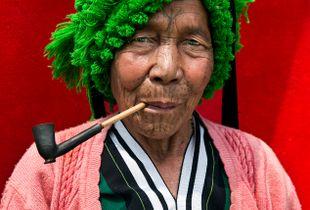 Grandma from Myanmar