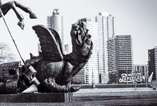 Dragon and Pepsi Cola