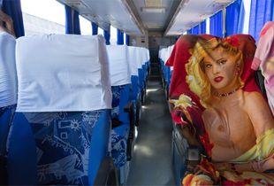Bus From Varadero to Havana Cuba