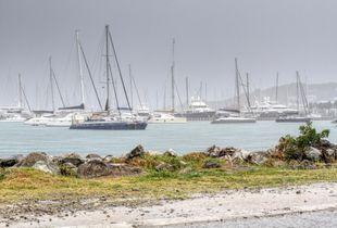 Port de Marigot à Saint Martin