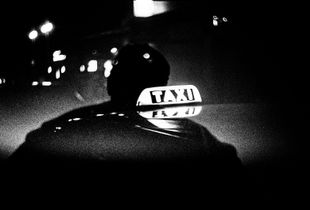 night pulse / street reflect, 35mm film, London