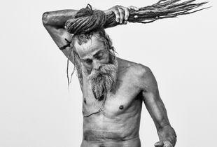 Bathing Sadhu - Kumbh Mela