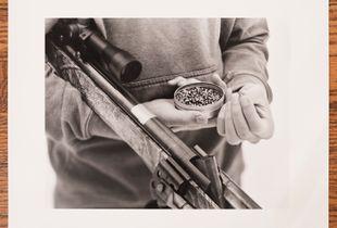 Pellet Gun Target Practice