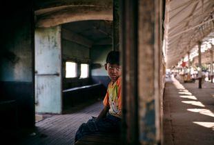 Yangon (Rangoon), Myanmar (Burma); Feb 2011