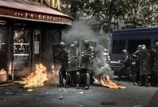 Paris, May 17th 2016 - Boulevard du Montparnasse