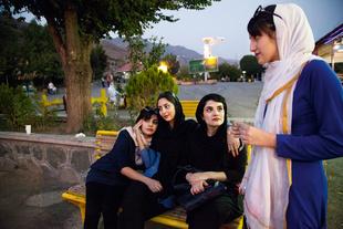 Girls among themselves