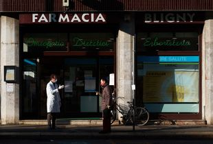 Milano - social distancing