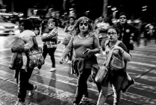Catrina Parade - A traditional representation of death