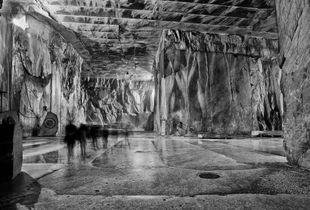Cava di marmo sotterranea Carrara