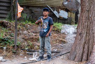 Boy with Fish, Xochimilco