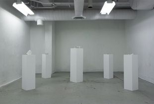 This is Only Temporary (Installation View)