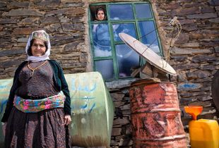 Rural Kurdish women