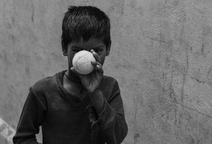 Hiding, India 2014