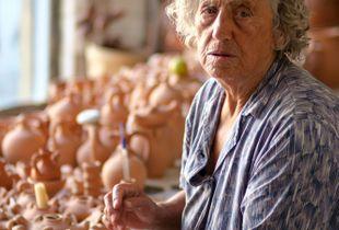 Maria sells pots, Rethymno