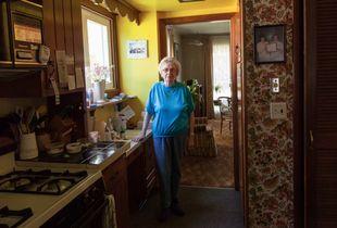 Irene in Her Kitchen