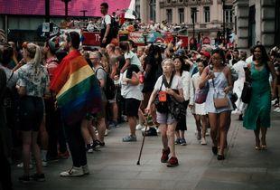 Gay Pride, London, 2019