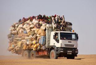 verso il confine libico