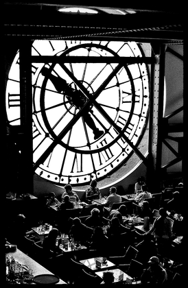 Restaurant in the Musee d'Orsay, Paris