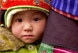 Baby with Red Hat
