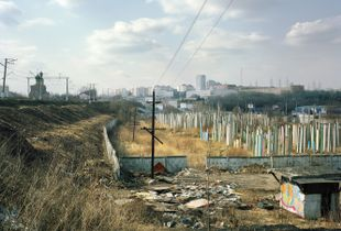 "Yuzhnoe Tushino II, 2010. From the series ""Pastoral: Moscow Suburbs"" © Alexander Gronsky/INSTITUTE"