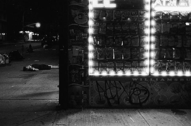 4am on Graham Ave (1/2), Williamsburg
