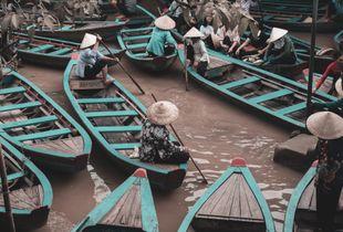 Coffee break in the Mekong Delta