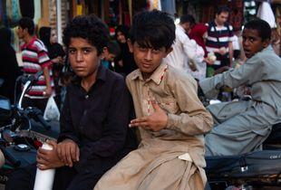 The Baloch little men
