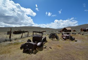 Bodie. a ghost town in CA