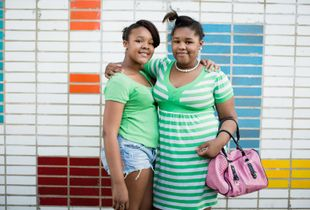 Shaniece and Sheyvice, from the project, Logan Square © 2012 Paul Elledge