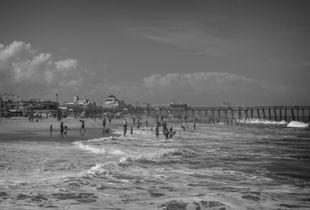 Summer scene in Ocean City
