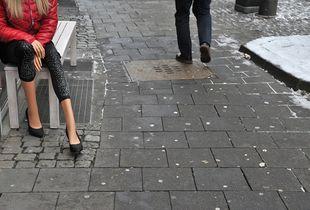 """HABBU-BABBU sweet beautiful Parasites"" - Nice Legs in Duesseldorf, Germany"