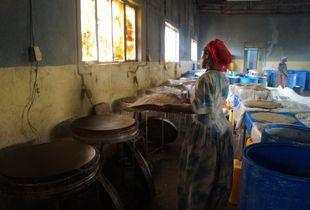 Enjera Making Woman Ethiopia