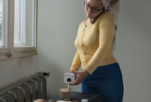 Oh Sweetheart! Gluten and lactose are poison, don't you know? – Inspired by Vermeer's The Milkmaid