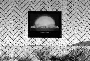 Perimeter Fence, Trinity Test Site, New Mexico.
