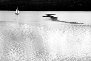 Il mostro di Loch Ness si era appena immerso