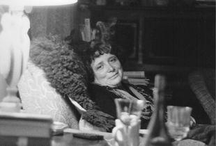 Dorothy in her armchair