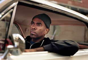 Mefie in his Impala, New York. From Series Ground Clearance.